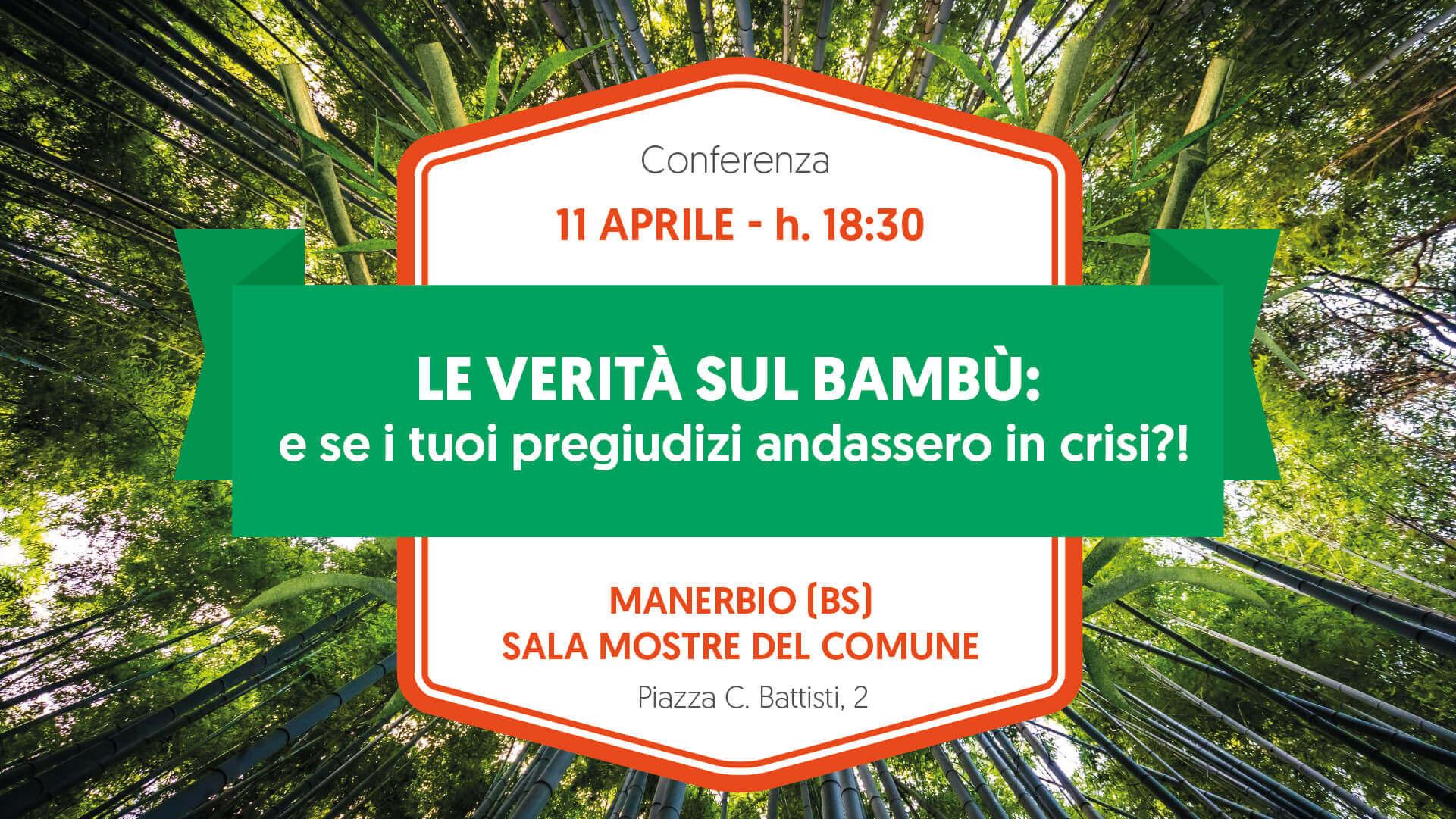 Conferenza 11 Aprile Verita Bambu